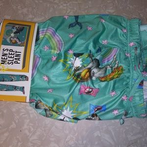 NWT Breifly Stated XXL pajama pants Unicorn Norwal